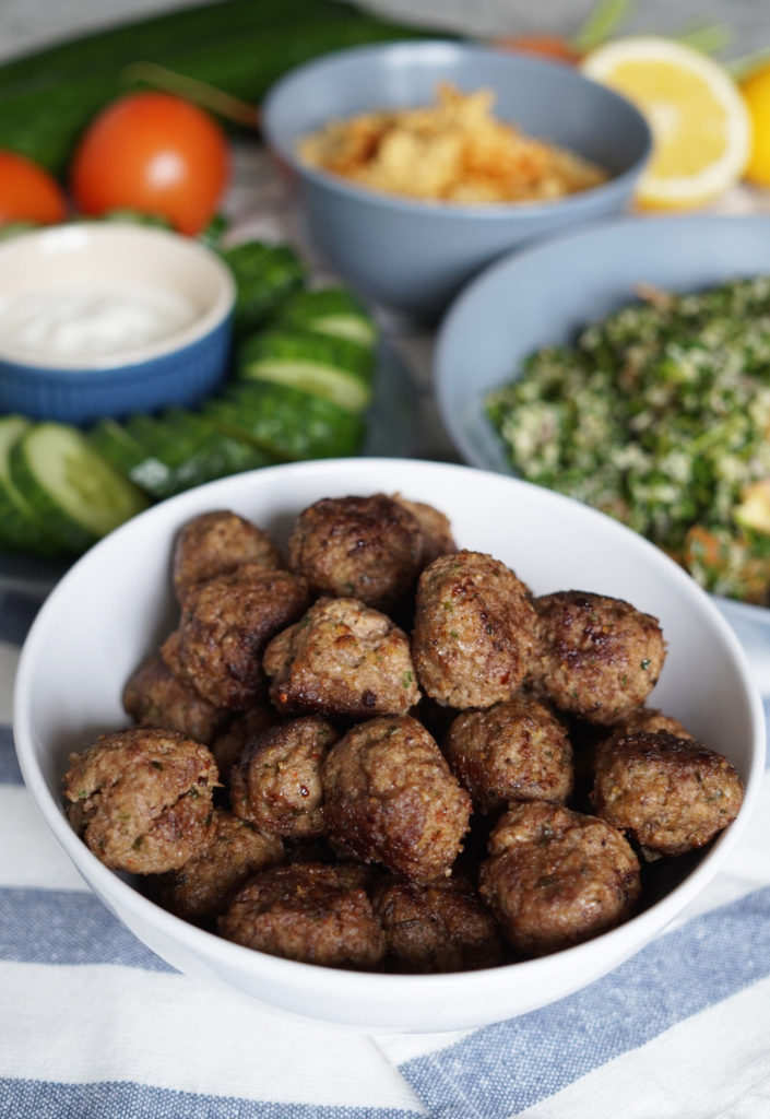 Spice Things Up With Lebanese Kibbeh Meatballs Lone Star Farm Blog