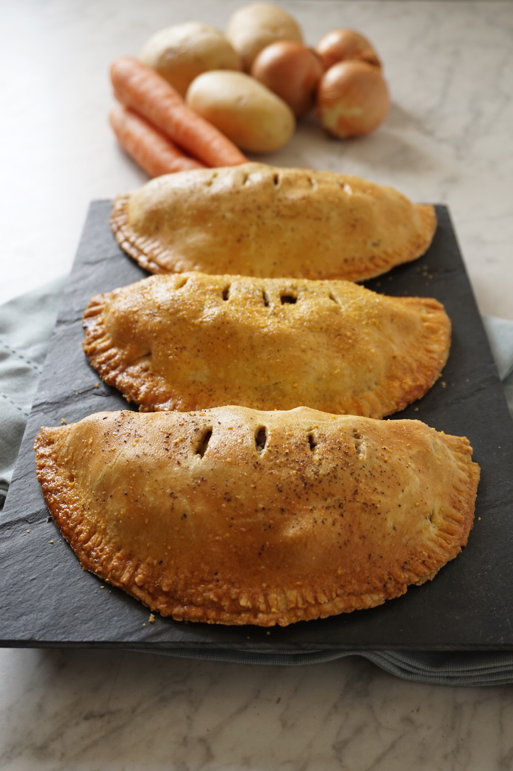 Cornish Pasties with Skirt Steak - Lone Star Farm Blog