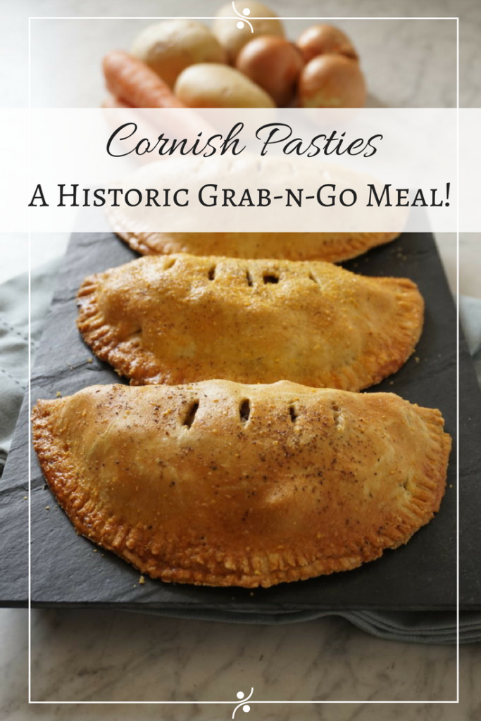 Cornish pasties made with #SkirtSteak! #PicnicFood #SavoryPie